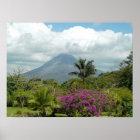 Arenal Volcano - Costa Rica Poster