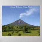 Arenal Volcano Costa Rica Poster