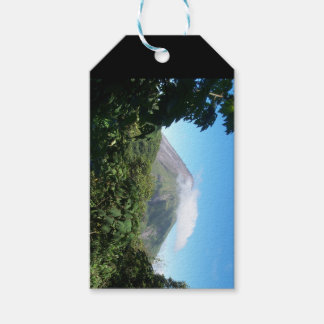 arenal volcano gift tags
