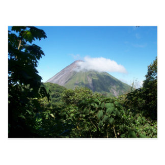 arenal volcano postcard