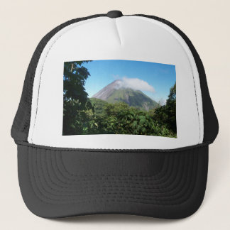 arenal volcano trucker hat