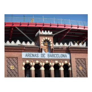 Arenas de Barcelona Spain Postcard
