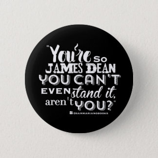 Aren't You Round Button (black)