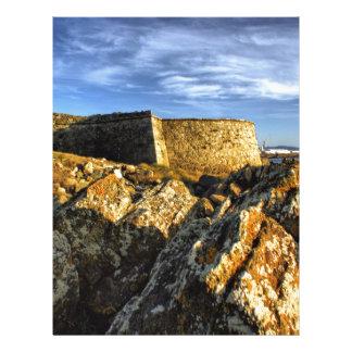 Areosa fortress letterhead