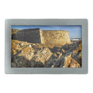 Areosa fortress rectangular belt buckle