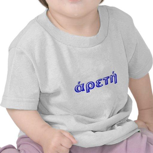 arete virtue splendidness t-shirts