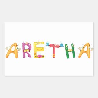 Aretha Sticker