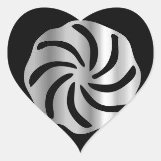Arevakhach Armenian Hetanism- Religious symbol Heart Sticker