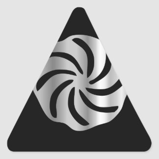 Arevakhach Armenian Hetanism- Religious symbol Triangle Stickers