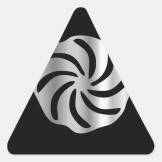 Arevakhach Armenian Hetanism- Religious symbol Triangle Sticker