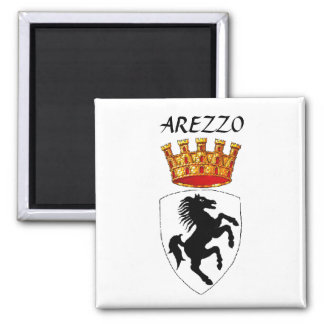Arezzo coat of arms magnet