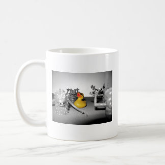 'Arg! Monsters!' Rubber Duck Mug