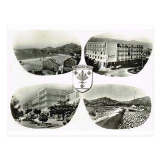 Argeles sur mer postcard