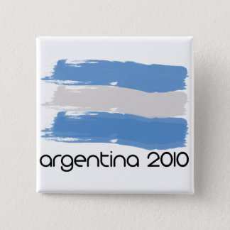 Argentina 2010 2 inch square button