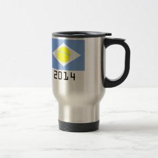 argentina 2014 travel mug