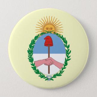 Argentina, Argentina 4 Inch Round Button