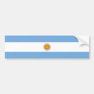 Argentina/Argentine Flag Bumper Sticker