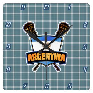 Argentina Argentine Lacrosse Clock