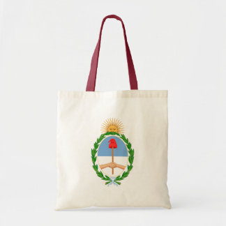 argentina arms tote bag