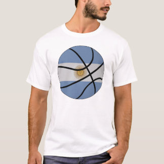 Argentina Basketball T-shirt