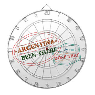 Argentina Been There Done That Dartboard