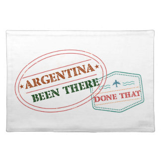 Argentina Been There Done That Placemats