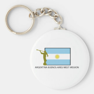 ARGENTINA BUENOS AIRES WEST MISSION LDS KEYCHAIN