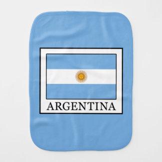 Argentina Burp Cloth