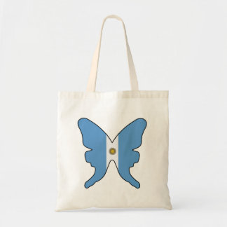 Argentina Butterfly Tote Bag