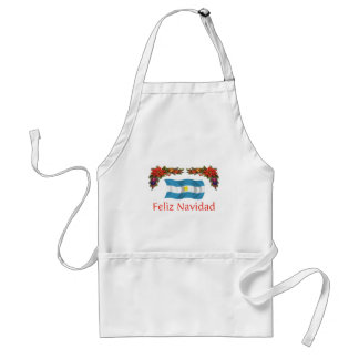 Argentina Christmas Standard Apron