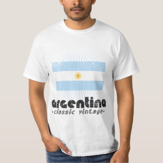 Argentina - Classic Vintage (Distressed Look) T-Shirt