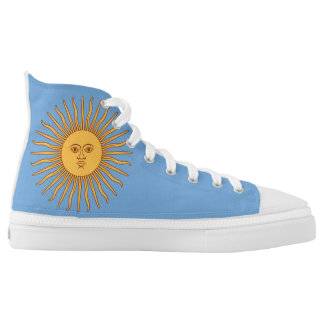 Argentina Coat of Arms Flag High Tops
