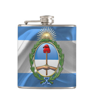 Argentina Coat of arms Hip Flask