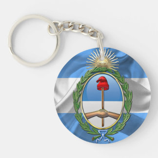 Argentina Coat of arms Keychain