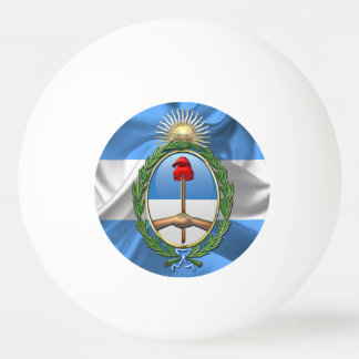 Argentina Coat of arms Ping Pong Ball