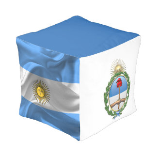 Argentina Coat of arms Pouf