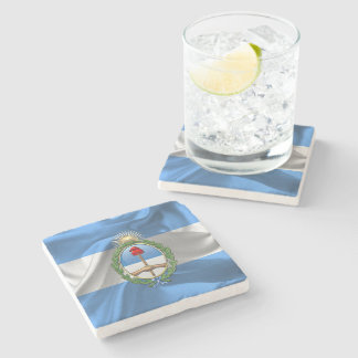 Argentina Coat of arms Stone Coaster