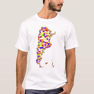 Argentina Corazon Map T-Shirt