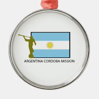 ARGENTINA CORDOBA MISSION LDS METAL ORNAMENT