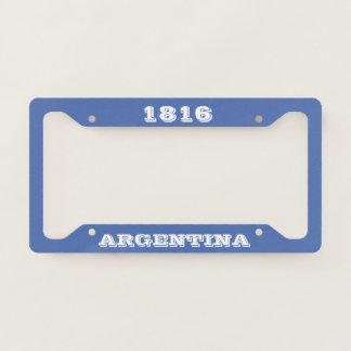 Argentina Custom License Plate Frame