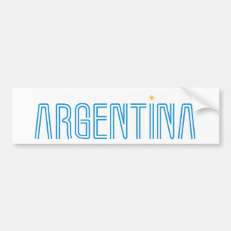 Argentina design! bumper sticker