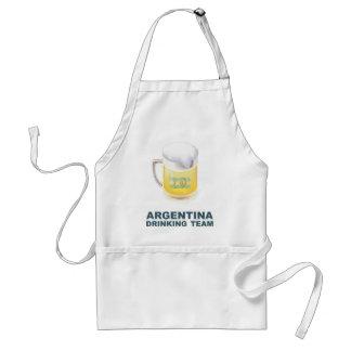 Argentina Drinking Team Standard Apron