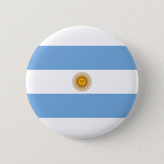 Argentina Flag 2 Inch Round Button