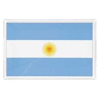 Argentina Flag Acrylic Tray