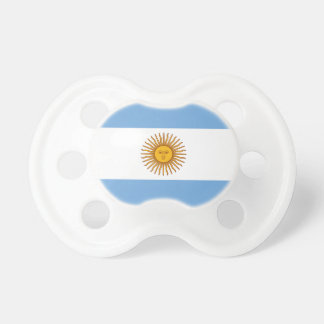 Argentina Flag Baby Pacifier