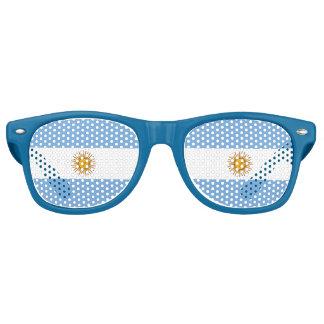 Argentina Flag - Bandera Argentina Retro Sunglasses