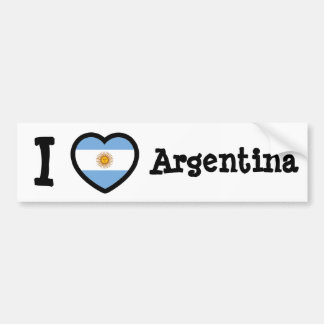 Argentina Flag Bumper Sticker