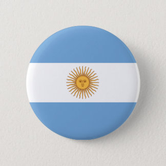 Argentina Flag Button