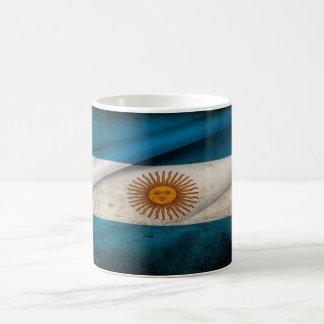 Argentina flag coffee mug
