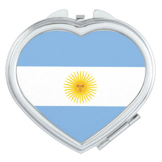 Argentina Flag Compact Mirror